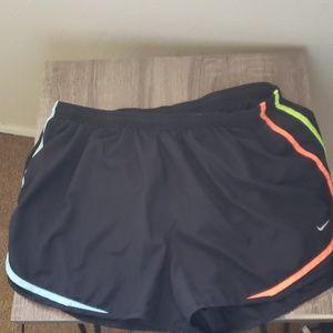 Plus size Nike running shorts